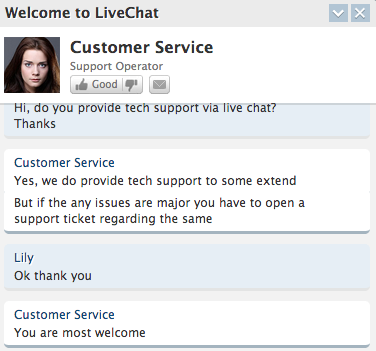 Host-Ed.net support chat