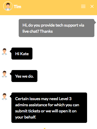 iwfhosting.net support chat