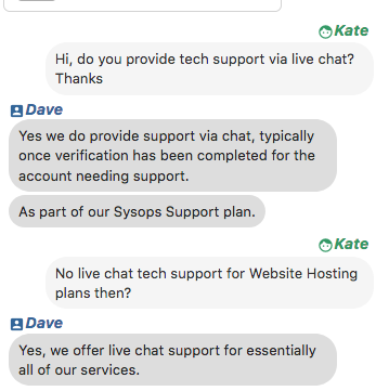 Vivotech.net support chat