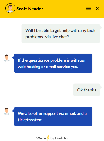 qth.com support chat