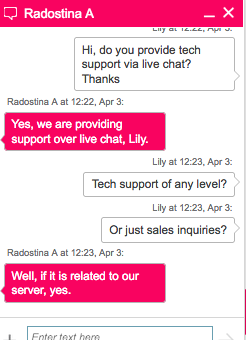 tsohost.co.uk support chat