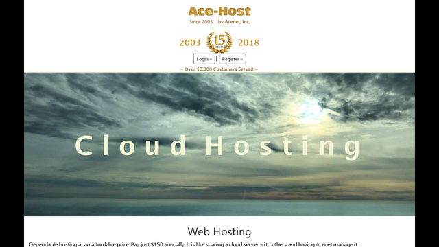 Ace-host.net Thumbnail