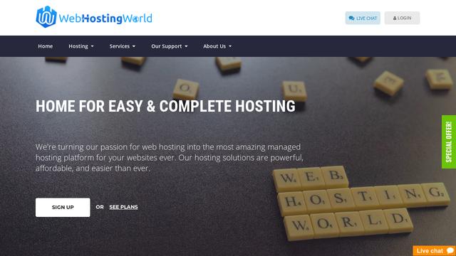 WebHostingWorld.net Thumbnail