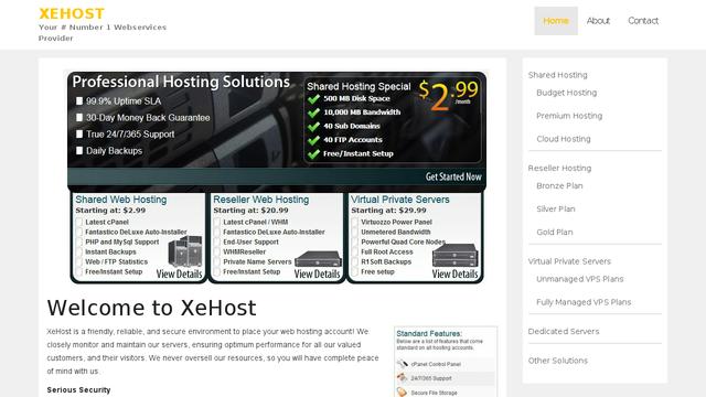 XeHost.net Thumbnail